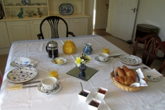 The Coach House breakfast table