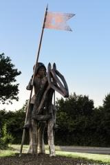 Tewkesbury Battlefield Commemorative sculptures