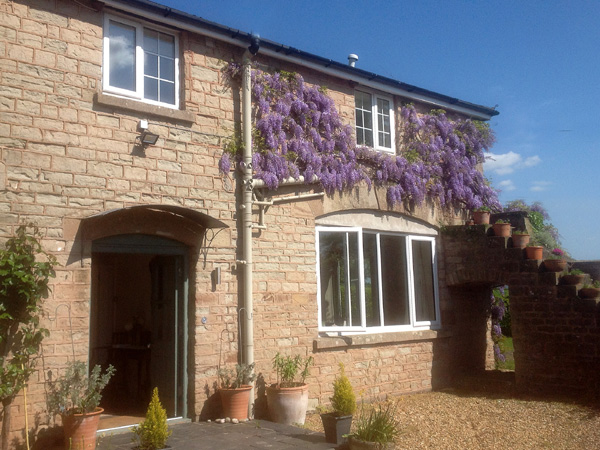 The Coach House bed and breakfast Herefordshire